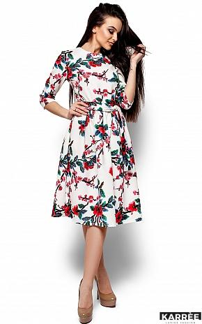 Платье Сакура, Белый - фото 4