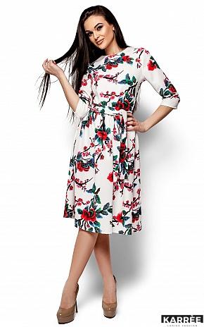 Платье Сакура, Белый - фото 1
