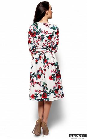 Платье Сакура, Белый - фото 3