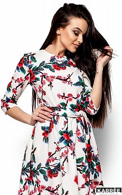 Платье Сакура, Белый