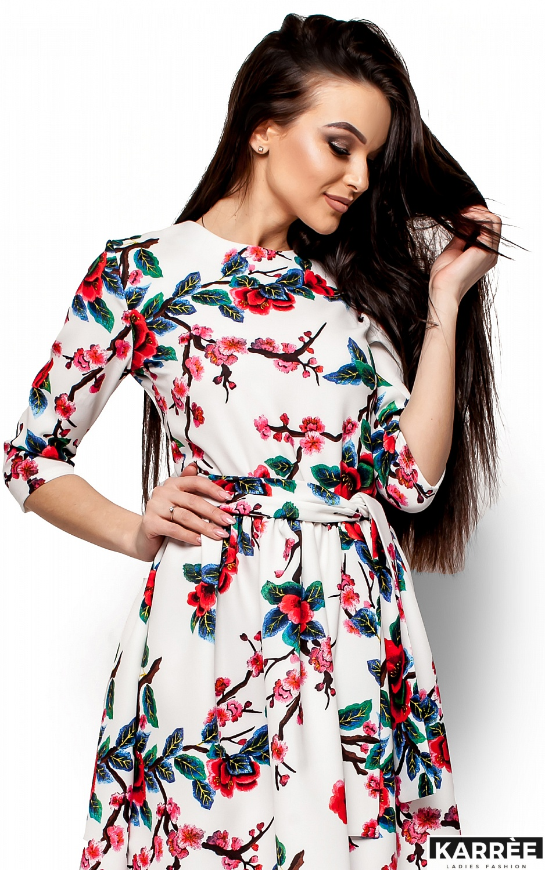 Платье Сакура, Белый - фото 2