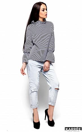 Блуза Перу, Черный - фото 3