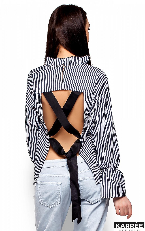 Блуза Перу, Черный - фото 2