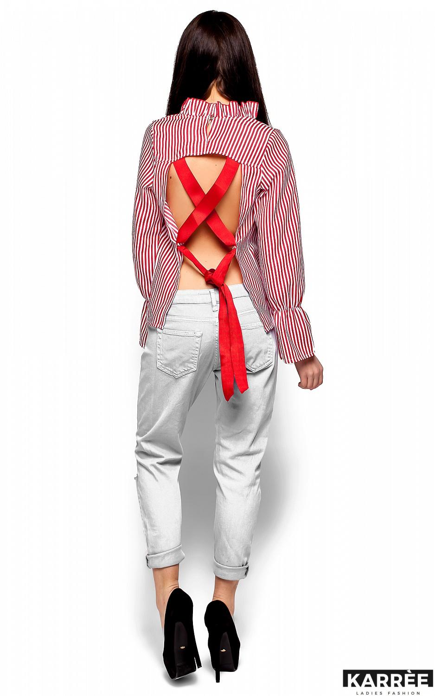 Блуза Перу, Красный - фото 4