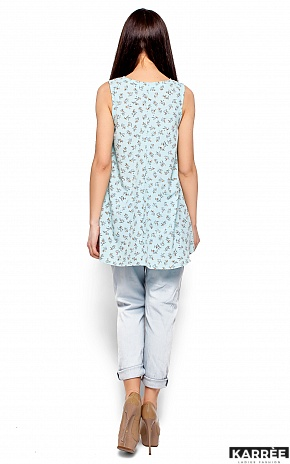 Блуза Моника, Голубой - фото 3