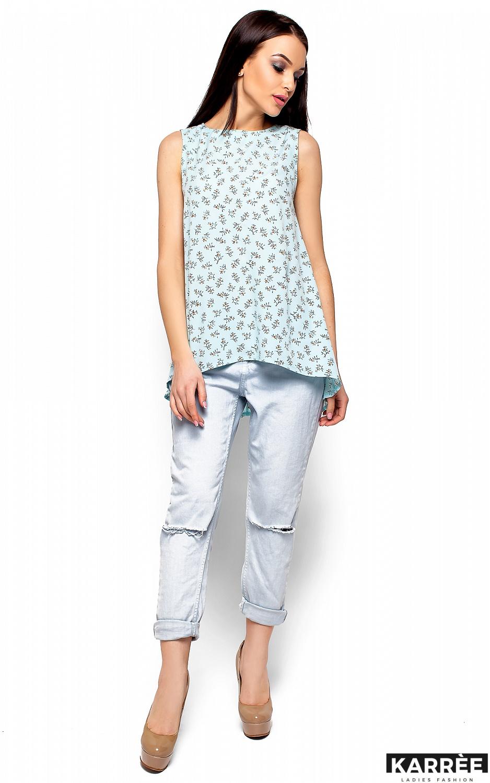 Блуза Моника, Голубой - фото 1