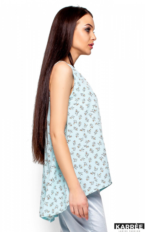Блуза Моника, Голубой - фото 2