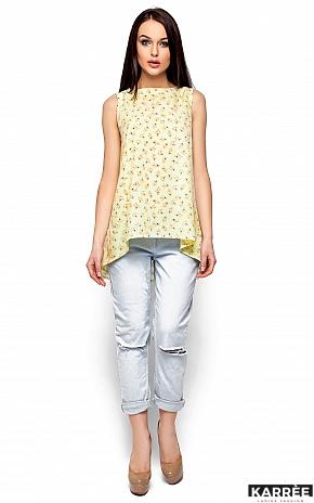 Блуза Моника, Светло-желтый - фото 1