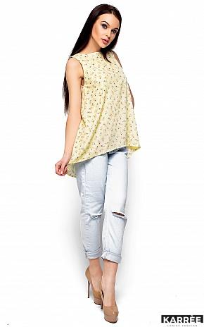 Блуза Моника, Светло-желтый - фото 4