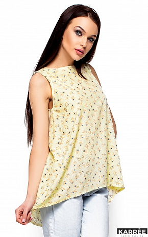 Блуза Моника, Светло-желтый - фото 2