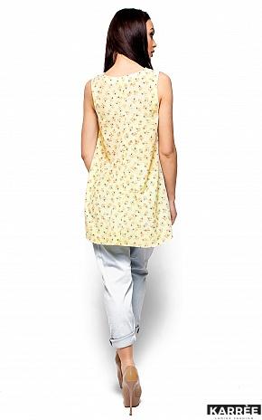 Блуза Моника, Светло-желтый - фото 3