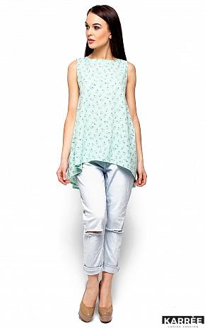 Блуза Моника, Ментол - фото 1