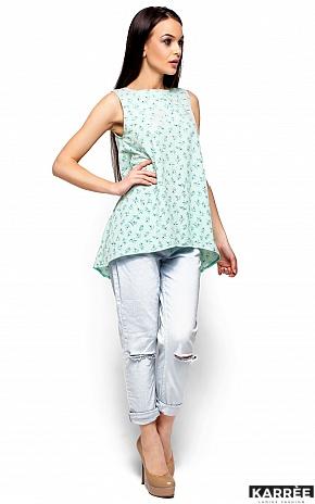 Блуза Моника, Ментол - фото 4