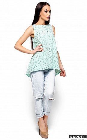 Блуза Моника, Ментоловый - фото 4
