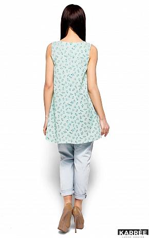 Блуза Моника, Ментол - фото 3