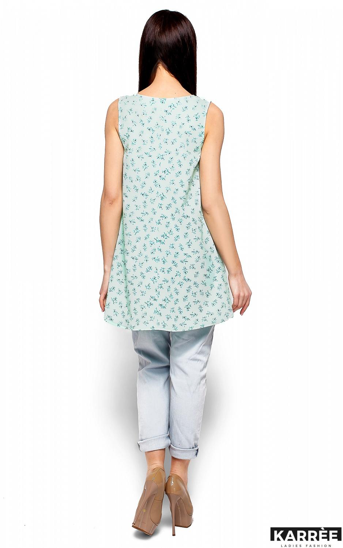 Блуза Моника, Ментоловый - фото 3
