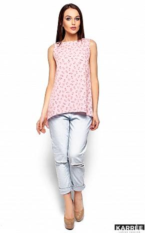 Блуза Моника, Розовый - фото 1