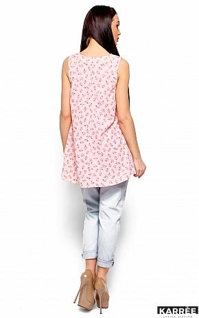 Блуза Моника, Розовый - фото 3