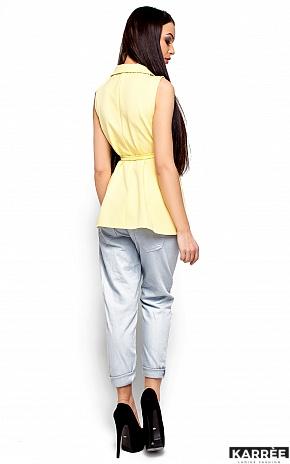 Пиджак Кристи, Светло-желтый - фото 3