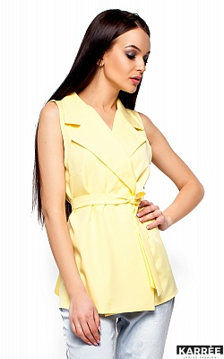 Пиджак Кристи, Светло-желтый