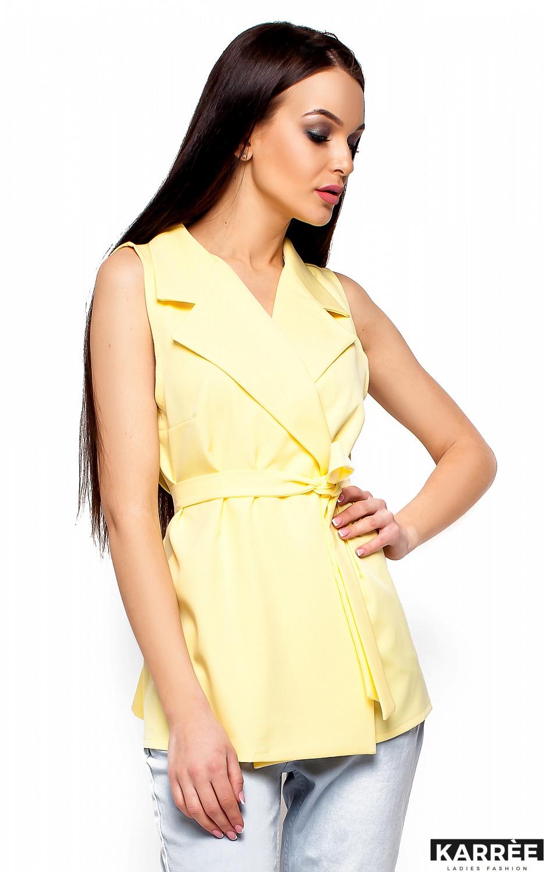 Пиджак Кристи, Светло-желтый - фото 2