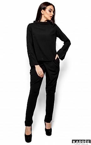 Блуза Вермут, Черный - фото 1