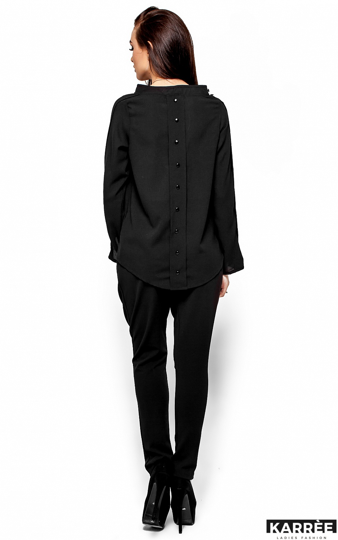 Блуза Вермут, Черный - фото 3