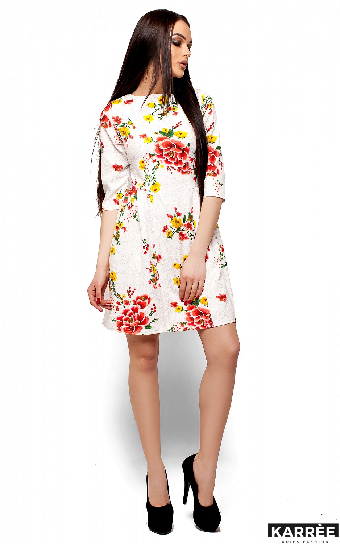 Платье Сивил, Белый - фото 4