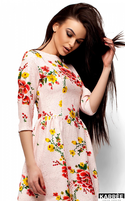 Платье Сивил, Розовый - фото 2