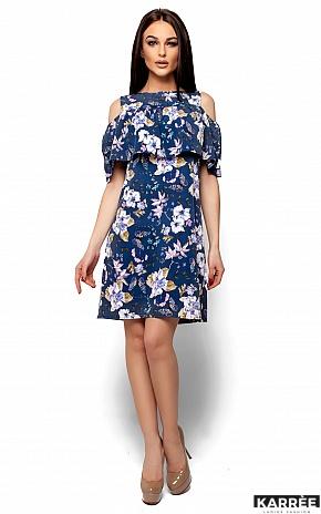 Платье Кения, Темно-синий - фото 1