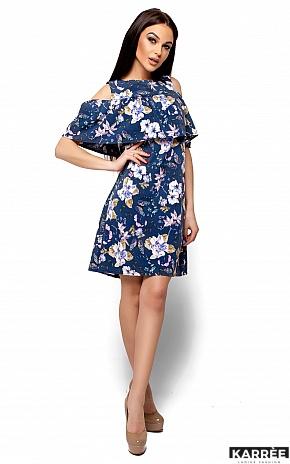Платье Кения, Темно-синий - фото 4