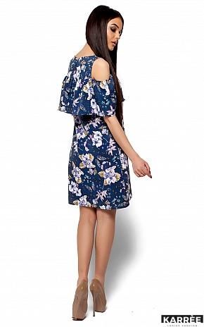 Платье Кения, Темно-синий - фото 3
