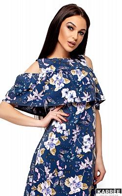 Платье Кения, Темно-синий