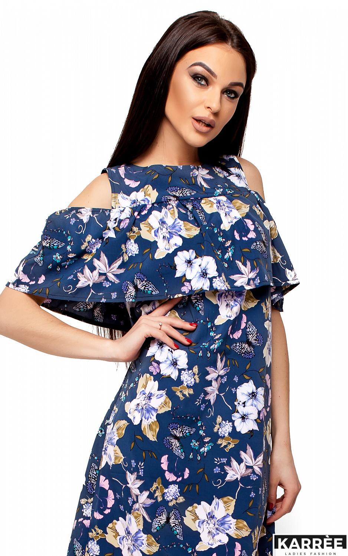 Платье Кения, Темно-синий - фото 2
