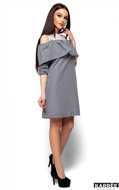 Платье Стенли, Черный - фото 4