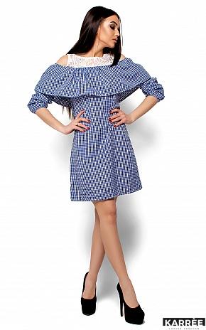 Платье Стенли, Синий - фото 1