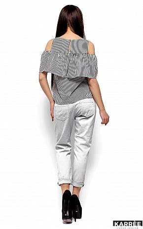 Блуза Каир, Черный - фото 3