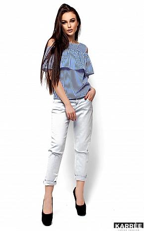 Блуза Каир, Синий - фото 1