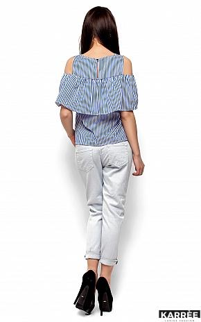 Блуза Каир, Синий - фото 3