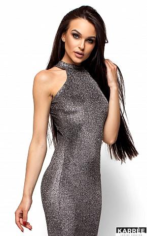 Платье Стоун, Черный - фото 2