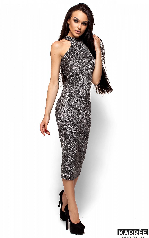 Платье Стоун, Черный - фото 4