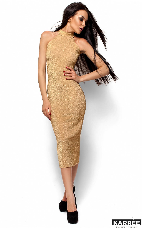Платье Стоун, Золото - фото 1