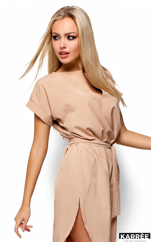 Платье Тринити, Бежевый - фото 2