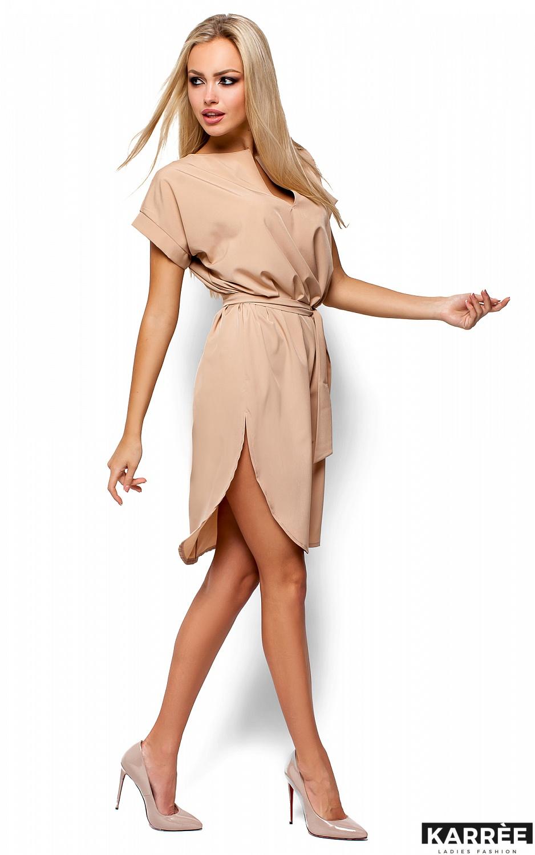 Платье Тринити, Бежевый - фото 4