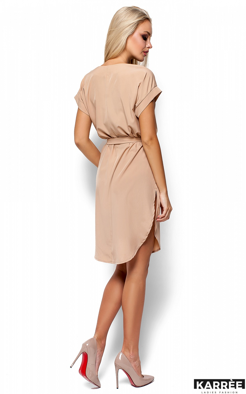 Платье Тринити, Бежевый - фото 3