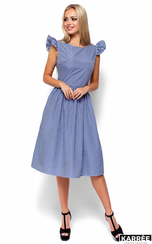Платье Регина, Синий - фото 4