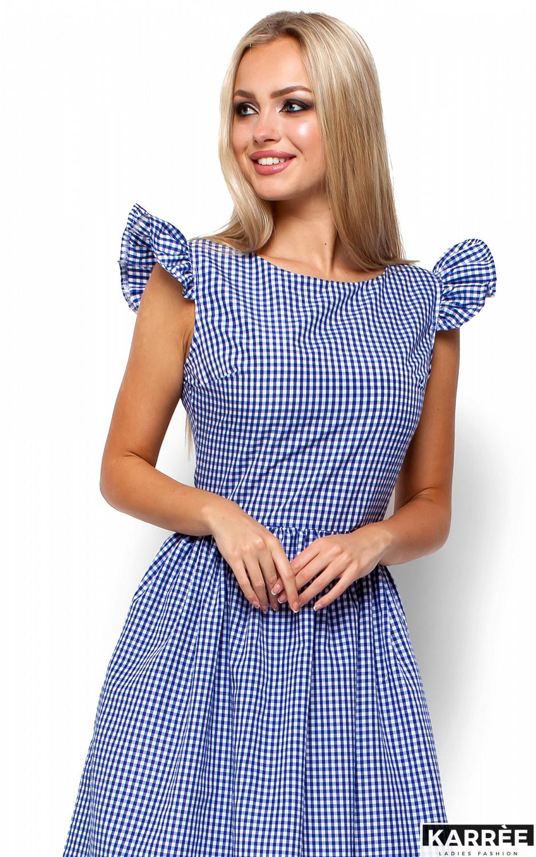 Платье Регина, Синий - фото 2