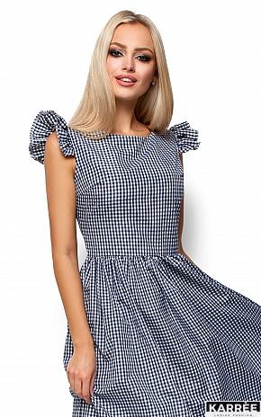 Платье Регина, Черный - фото 2
