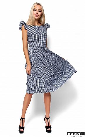 Платье Регина, Черный - фото 4