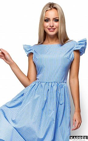Платье Регина, Голубой - фото 2
